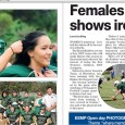 Raiders Womens Gridiron making headlines!You can findthe online edition of the Southern Courier here. The article is on page 20-21.