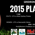 This Saturday 5 December 2015, the UNSW Raiders will host the Gridiron NSW Quarter Finals at David Phillips Sports fields. It will be a massive day of football with games kicking off at 11am, 1pm, 4pm and 6pm. 2015 finds […]