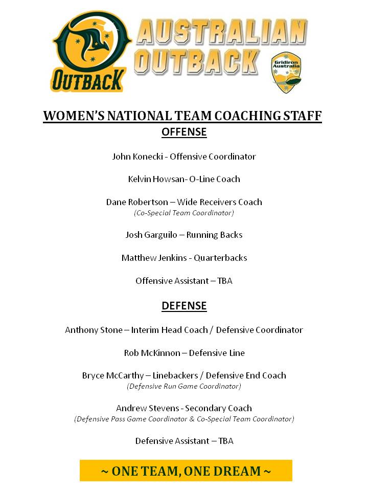 Womens Outback Coaches