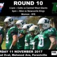 This coming weekend, Saturday 11th November 2017, is Round 10 of the Gridiron NSW Season. Our men and colts teams will be heading over to Melwood Oval – Forestville for their games and our women have another BYE. The UNSW […]