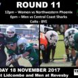 This coming weekend is the final regular round of the Gridiron NSW 2017 Season.The UNSW Raiders Schedule for this coming weekend is as follows: 12pm – Raiders Women vs Northwestern Phoenix at Lidcombe Oval,Lidcombe 6pm – Raiders Men vs Central […]
