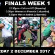 This coming weekend is Week 1 of the GNSW Finals Series. All of our UNSW Raiders teams will be in action. 12.30pm COLTS – UNSW Raiders vs UTS Gators (Neptune Park) 3.30pm WOMEN – UNSW Raiders vs Northwestern Phoenix(Lidcombe Oval) […]